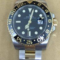 Rolex GMT-Master II  2 Tone Gold  Steel 2009 116713LN