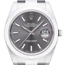 롤렉스 (Rolex) Datejust 41 Ref. 126300 Edelstahl Rhodium Index...