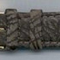 Leder-Armband 18mm Farbe: grau