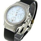 Hublot Elegant Chronograph with Diamond Case & Bezel