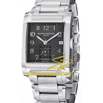 Baume & Mercier Hampton Rectangular Black Dial - 10048