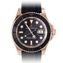 Rolex YACHT MASTER ROSE GOLD RUBBER