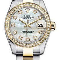 Rolex Women's New Style Two-Tone Datejust with Custom...