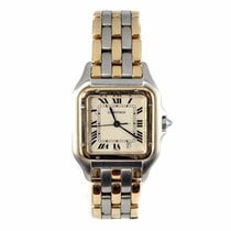 Cartier Panthere Large Steel and Gold Watch W25028B8 (Pre-Owned)