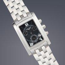 Longines Dolce Vita steel quartz chronograph watch