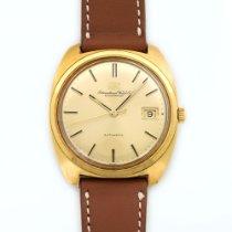 IWC 18k Yellow Gold Cushion Shaped Watch