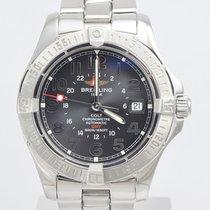 Breitling Colt GMT A32350 Stahl Box & Papiere 2005