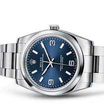 Rolex OYSTER PERPETUAL 34MM BLUE DIAL 2017