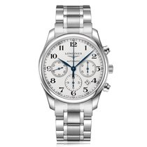 Longines Master Collection Automatic Stainless Steel White...