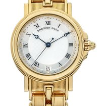 Breguet Marine Automatic Yellow Gold on Bracelet Silver Dial