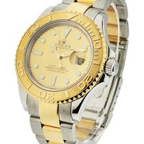 Rolex Used 16623b_used Yacht-Master 2-Tone Steel and 18kt...