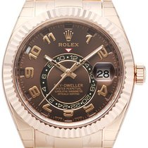 Rolex Sky Dweller Chocolate