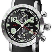Chronoswiss Timemaster Chronograph GMT Ref. CH-7553.1