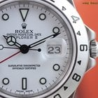 Rolex Men's Explorer II Superluminova White Face Box &...