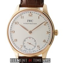 IWC Portuguese Collection Hand Wound 18k Rose Gold 44mm...