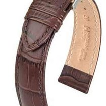Hirsch Duke Lederarmband braun L 01028010-2-18 18mm
