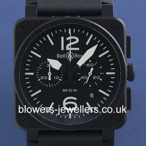 Bell & Ross Aviation Carbon BR03-94.