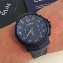 Corum Admirals cup challenge blue rubber limited 44mm