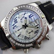Breitling Chronomat 44 - Perlmutt-ZB - Diamant-Lünette - AB0110