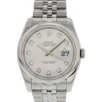 Rolex Oyster Perpetual Datejust SS/Diamond Dial 116234