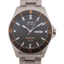 Mido Ocean Star 42 Day Date Grey Dial