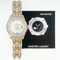 Rolex 80285 Pearlmaster Wht MOP Diam Dial Diam Bezel Diam Brac RG