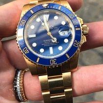 Rolex Submariner oro gold ceramica full set like new