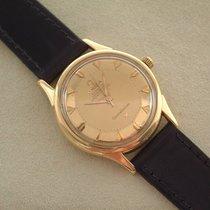 Omega 18 Karat Gelbgold Chronometer Automatik Cal 551 Pie Pan