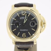 Panerai LuminorMarina YellowGold (FULLTSET2004) 44mm CARBONDIA...