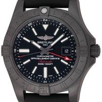 Breitling : Avenger II GMT :  M3239010/BF04 :  Blacksteel : NEW