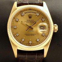 Ρολεξ (Rolex) Day Date REF. 18038 Yellow Gold with Diamonds Dial