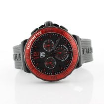 TAG Heuer Gts F1 Quartz Red Bezel 1/10th Second Chronograph