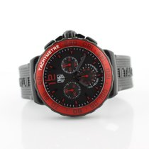 TAG Heuer Gts F1 Quartz Red Bezel 1/10th Second Chronograph