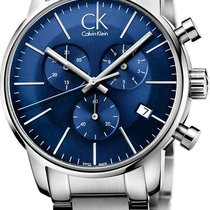 ck Calvin Klein City Chrono K2G2714N Herrenchronograph Swiss Made