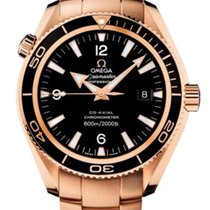 Omega Seamaster Planet Ocean Co-Axial 600m Gold Bracelet