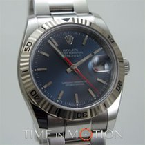 Rolex Perpetual Datejust Turn-O-Graph 116264 Bleue Full Set