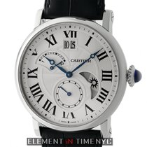 Cartier Rotonde De Cartier Retrograde Time Zone Steel 42mm