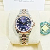 Rolex Datejust 279171 Aubergine Purple Diamond Dial 28mm [NEW]