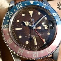 Ρολεξ (Rolex) Vintage GMT Brown Tropical - Chapter Ring - PCG