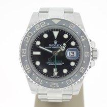Rolex GMT-MasterII BlackCeramic 40mm Steel(B&P2015) MINT