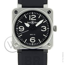 Bell & Ross BR01-92  Steel New-Full Set