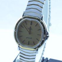 Ebel Classic Wave Damen Uhr 28mm Sport Classique Stahl/gold...