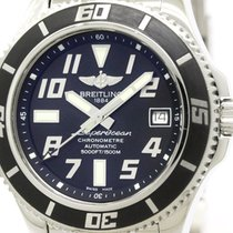 Breitling Polished Breitling Super Ocean 42 Steel Automatic...
