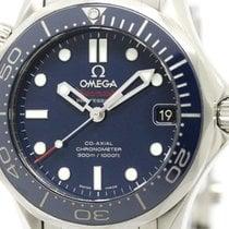 Omega Polished Omega Seamaster Diver 300m Mid Size Watch...