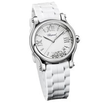 Chopard 278582-3001 Happy Sport Round Quartz in Steel - on...