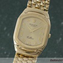 Rolex Cellini 18k (0,750) Gold Herrenuhr Ref. 6633 Saphirglas