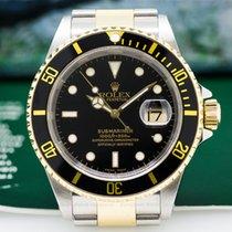 Rolex 16613 Submariner Black Dial SS / 18K (26141)