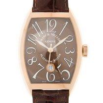 法兰克穆勒 (Franck Muller) Vintage 18k Rose Gold Brown Automatic...