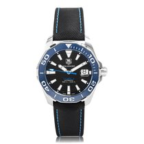TAG Heuer Aquaracer Calibre 5 Automatic Stainless Steel Black...
