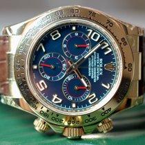 Rolex Daytona Gelbgold Blue Arab Rehaut